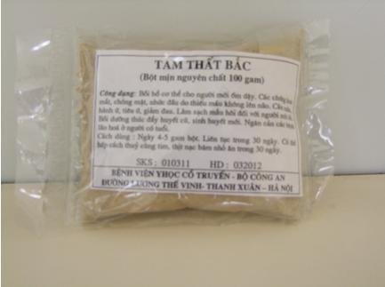 Tác dụng của bột tam thất vị thuốc rất tốt cho sức khỏe