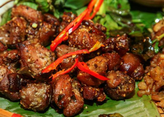 Có ngay đặc sản Hà Giang tại nhà với công thức làm thịt lợn nướng dưới sau