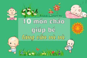 mon chao giup be tang can