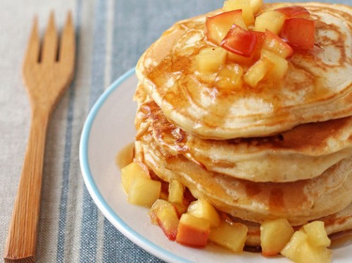 Tao voi banh Pancake