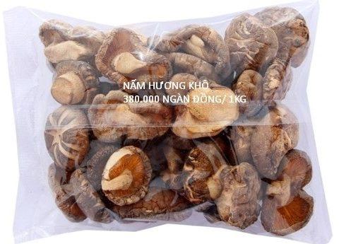 Giá nấm hương khô bao nhiêu tiền 1kg tại Hà Nội?