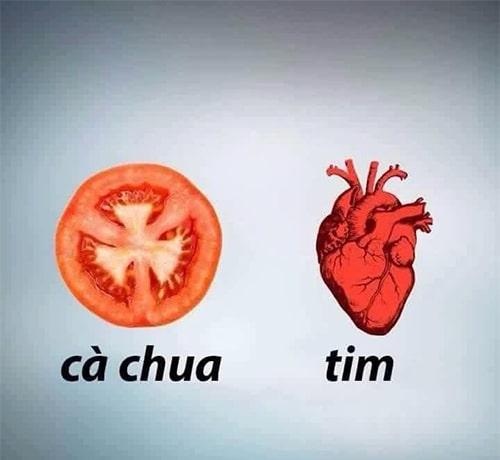 Cà chua tốt cho tim
