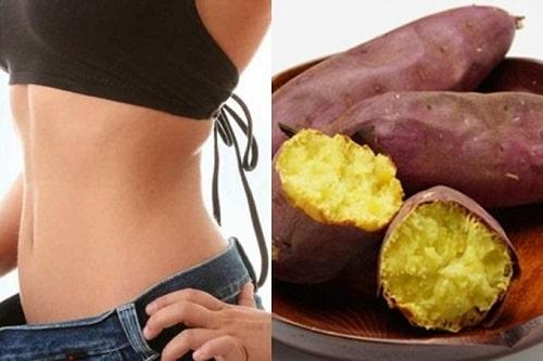 Dinh dưỡng trong khoai lang cho các bạn nữ giảm cân tham khảo