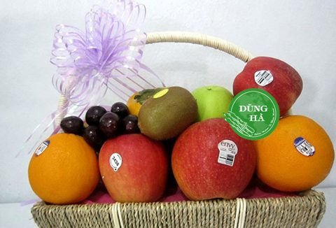 Gợi ý cách tạo combo giỏ quà hoa quả tặng tết độc đáo mà ý nghĩa
