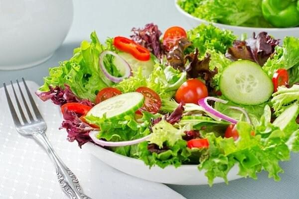nguyen lieu lam salad giam can rau cu