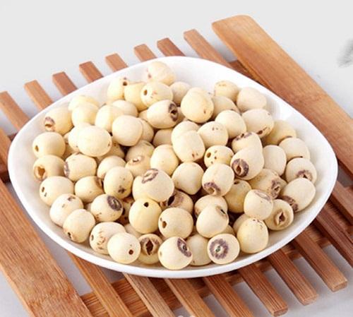 ngâm hạt sen khô trong bao lâu