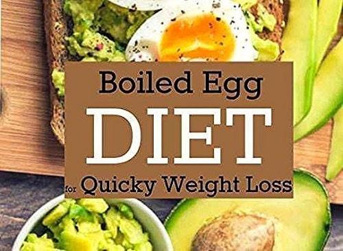 Thực đơn ăn kiêng với trứng gà luộc