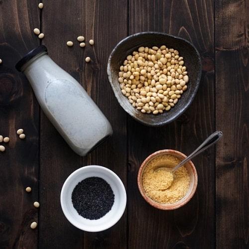 Sữa đậu nành mè đen